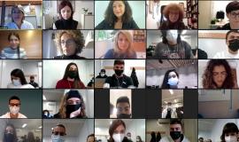 Les Autores I Els Autors Dels Millors Treballs De Recerca De Cornellà D'enguany Exposen Les Seves Investigacions Davant De Més De 200 Estudiants De Primer De Batxillerat En La Ll Jornada Virtual De Recerca De Ciutat