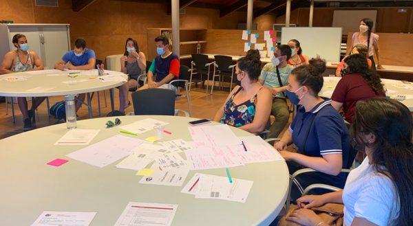 Sessió de mapatge Oficina Jove de Cornellà - Juny 2021